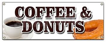 Coffee and Donuts sign