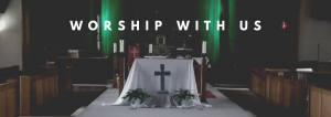 Worship WIth Us web banner