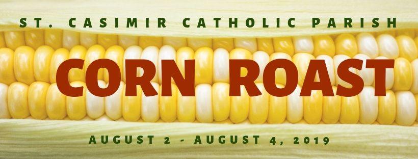 2019 St. Casimir Corn Roast Festival banner